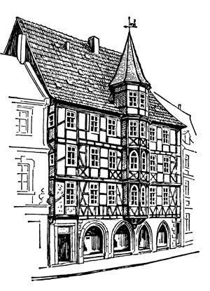 The old Mollenhauer house in Fulda