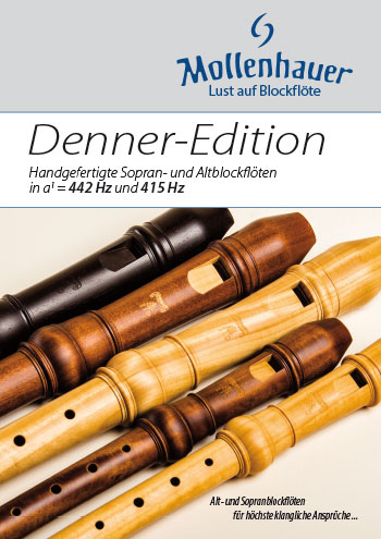 Denner-Edition Satinwood Broschüre