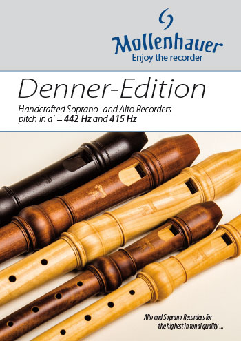 Satinwood for recorder (music instrument) brochure