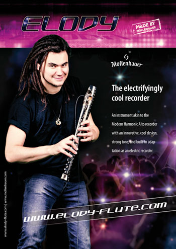 Elody recorder (Musical Instrument) Catalogue  Brochure in english