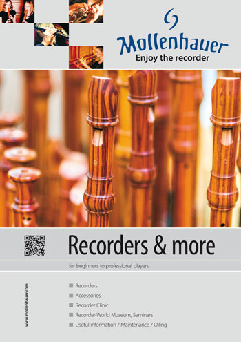 Mollenhauer Recorder (Musical Instrument) Catalogue
