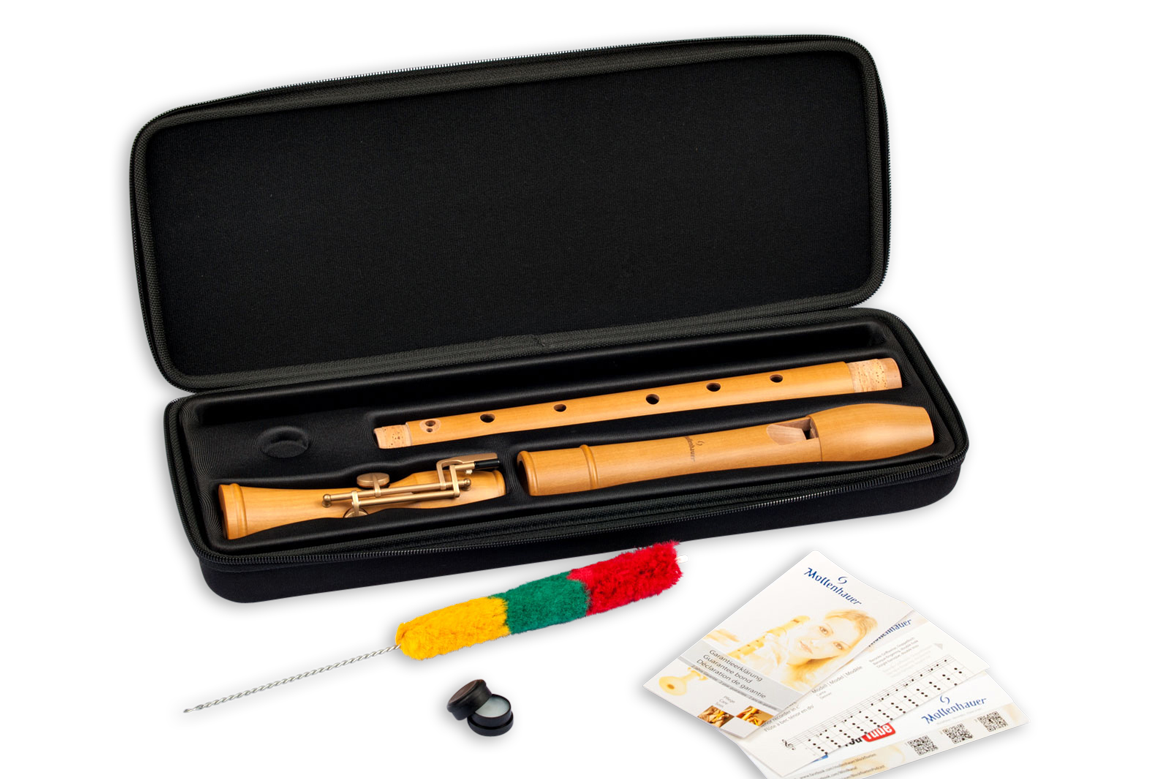Tenor recorder Mollenhauer 2446 Canta with double hole and double keys