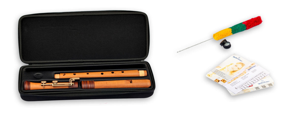 Tenor recorder Mollenhauer 4427 Adri's Dream with double holes/keys
