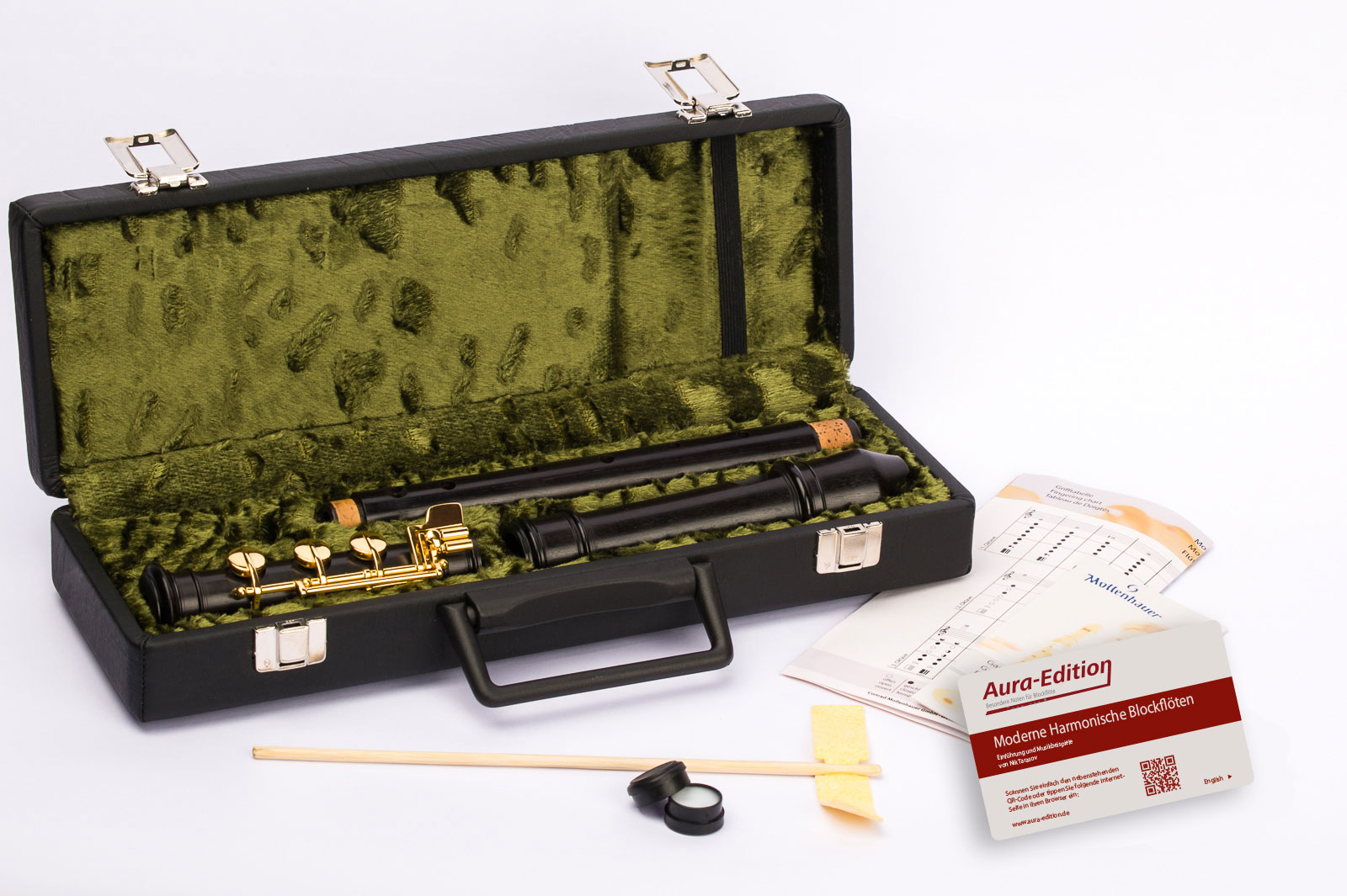Alto recorder Mollenhauer 5924E Modern Alto baroque with E-foot