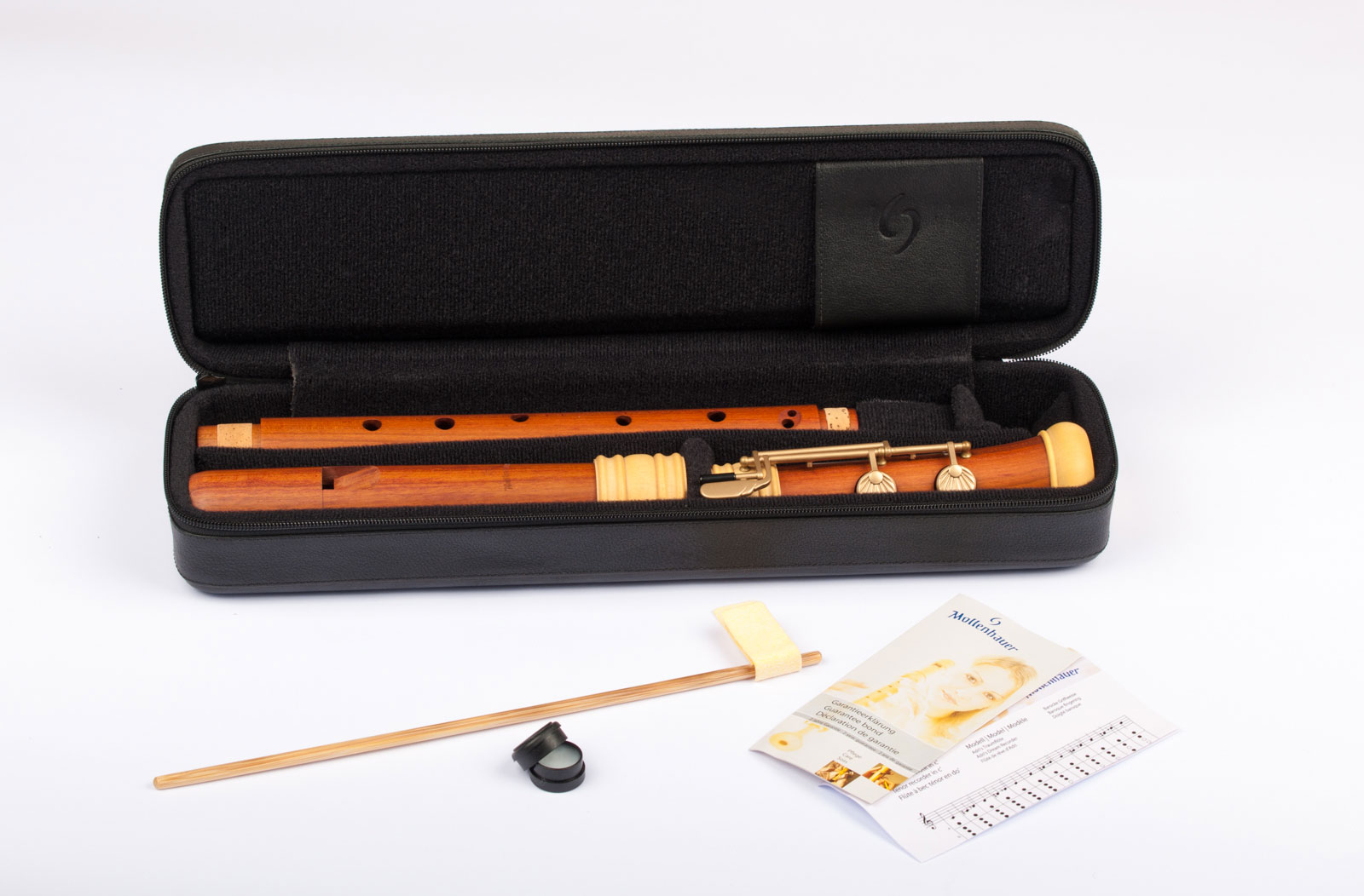 Tenor recorder Mollenhauer TE-4428 baroque fingering in plumwood