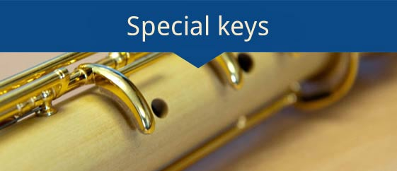 Special Key mechanism for handicap people