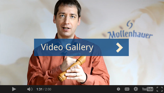 Recorder videos from Mollenhauer