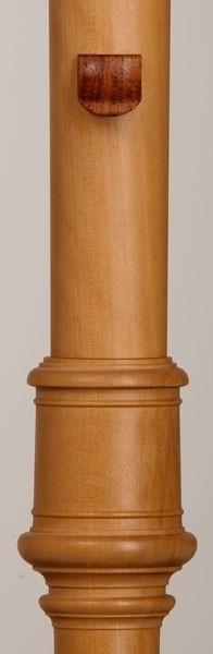 Daumenhalter aus Holz für Tenorblockflöte (selbstklebend)
