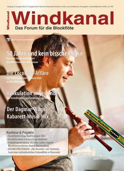 Das Windkanal-Jahresabo Ausland, nicht EU (4 Hefte/Jahr)